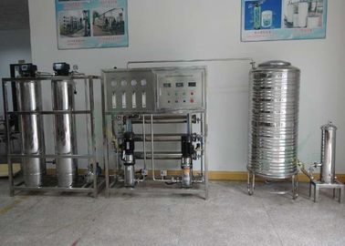 Automatic RO Water Treatment Plant 500lph Reverse Osmosis System Full Stainless Steel