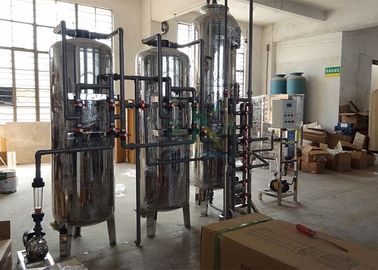 Industrial Mixed Bed Ion Exchange Water Treatment System Resin Membrane 6000L/H
